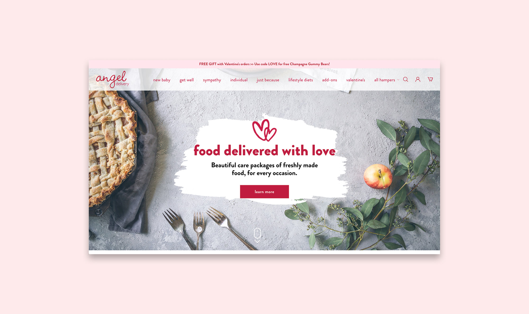 Angel Delivery Shopify Site